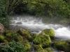 Zufluss am Virje Wasserfall