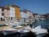 Fischerhafen in Cres Stadt