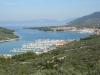 Blick in die Bucht von Cres Stadt