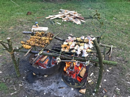 Bushcraft Barbecue