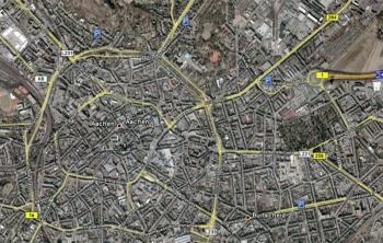 """Markierte """"Gratis"""" Parkmöglichkeiten Aachen"""