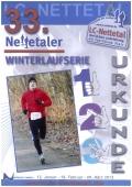 33. Nettetaler Winterlaufserie