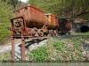 März - Alte Minenloren, Besucherbergwerk Fell (Trier)