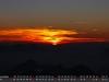 Dezember - Sonneruntergang Alpen, Zugspitze