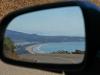 Stinson Beach im Rückspiegel