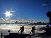 Blick vom Gipfel des Nebelhorn (2224 m)