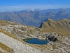 Blick vom Hindellanger Klettersteig auf das Koblat