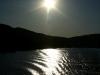 Sonne über der Mosel