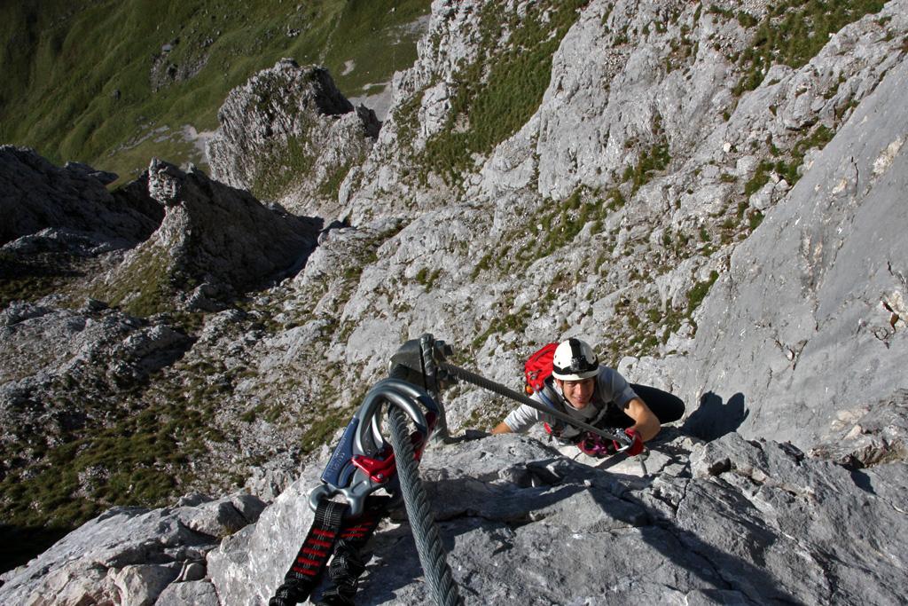 Klettersteig Köllenspitze : Pauli net köllenspitze
