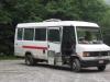 Mit diesem Partybus ging es zum Einstiegspunkt bei Nisramont.