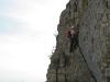 Einstieg zum Pidinger Klettersteig