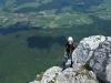 Ende des Klettersteigs