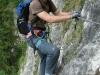 Im Grünsteig Klettersteig