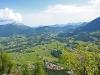 Blick ins Tal vom Grünsteingipfel