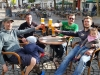 Tourende auf dem Buttermarkt in Kempen