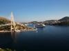 Fjord und Fähranleger bei Dubrovnik