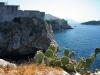 Dubrovnik - Blick auf die Stadtmauer