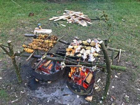 Bushcraft Barbecue