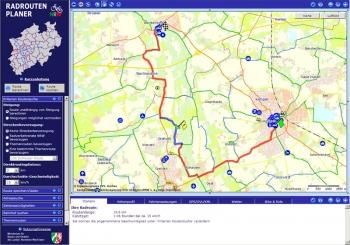 Radroutenplaner NRW
