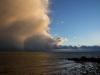 Unwetterluft am Strand von Pelzerhaken