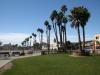 Strand und Bulevar in Santa Cruz