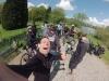 Wir überholen die Jubiläumsgruppe 10 Jahre Ruhrtalradweg